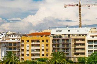 Los visados para construir pisos bajaron un 24,4% hasta marzo