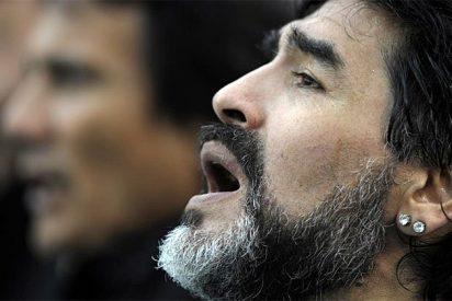 Un bidé de lujo para Maradona durante el Mundial de Sudáfrica