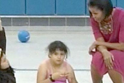 "Una niña a Michelle Obama: ""Mi mamá no tiene papeles"""