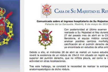 """Zapatero tras visitar al Rey en el hospital: """"Está fenomenal"""""""