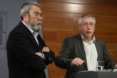 Toxo y Méndez reprueban la actitud de Gobierno y CEOE