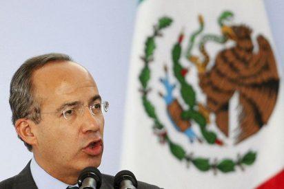 """Calderón condena el """"acto de barbarie"""" de la muerte de 19 personas"""