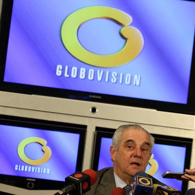"""El presidente de Globovisión denuncia la """"persecución"""" que sufre su cadena"""