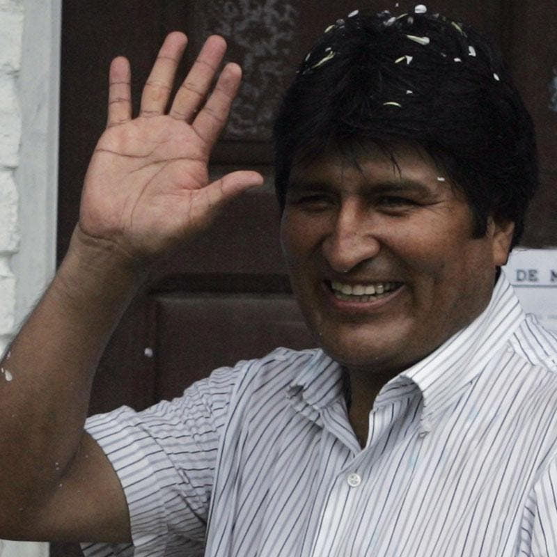 """Evo Morales pide """"equidad y justicia social"""""""