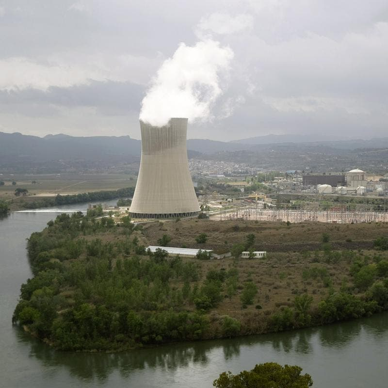 La central nuclear de Ascó (Tarragona) simula la intrusión de tres individuos y un incendio