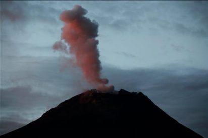 Más de once explosiones cada hora genera el volcán ecuatoriano Tungurahua