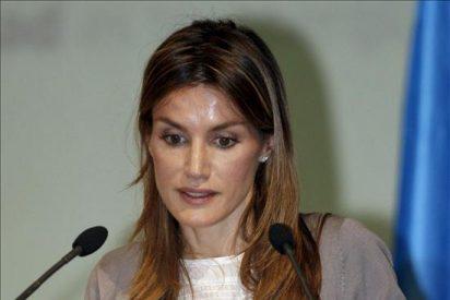 La princesa Letizia inaugura un seminario sobre lengua y periodismo en San Millán de la Cogolla