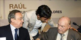 """Florentino Pérez agradece a Raúl """"los años que ha dedicado"""" al Real Madrid"""
