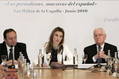 La Princesa subraya la responsabilidad de los periodistas respecto al español