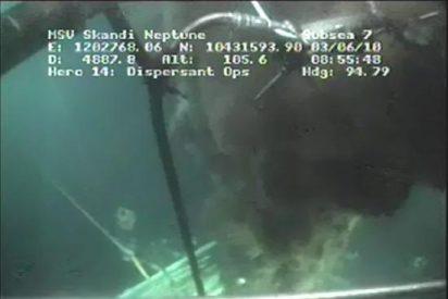 BP logra cortar la tubería por donde fluye el crudo e intentará contenerlo con una caja