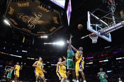 102-89. La defensa y Pau Gasol golpean a los Celtics