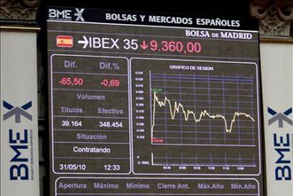 La Bolsa española marca un mínimo anual al bajar un 3,8 por ciento por los datos de Hungría y EE.UU.