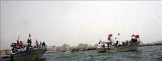 """El barco irlandés """"Rachel Corrie"""" se encuentra a 150 millas de Gaza"""