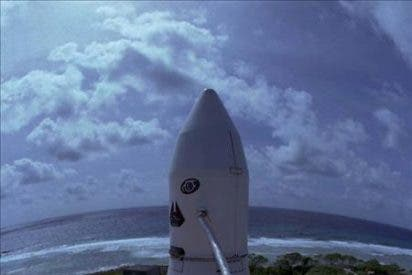 Lanzan con éxito desde Cabo Cañaveral el cohete privado Falcon 9