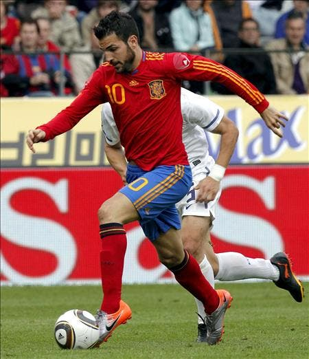 """Cesc dice que no tiene tiempo """"para pensar en nada que no sea el Mundial"""""""