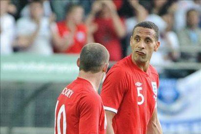 Rio Ferdinand se lesionó y es seria duda para el Mundial