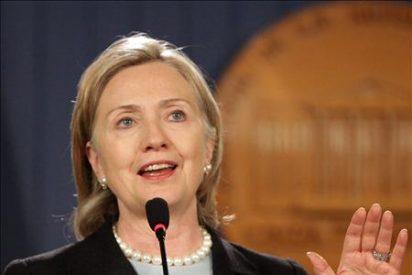"""Clinton está """"satisfecha"""" por las sanciones de la ONU y confía que lleven a una negociación real"""