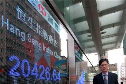 El Hang Seng baja un 0,53% en la apertura, 103,63 puntos, hasta 19.517,61