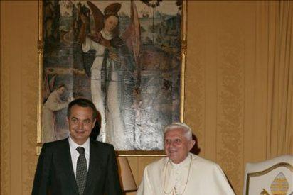 Zapatero y el Papa se citan en el Vaticano con Cuba y la crisis como ejes