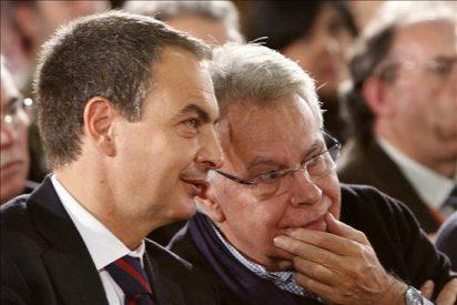 Zapatero y González, protagonistas del centenario del grupo socialista