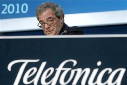 El presidente de Telefonica destaca el papel de la banda ancha en la educación