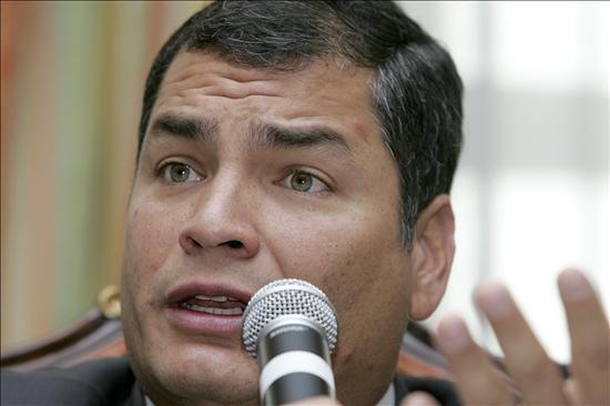 """Correa asegura que """"nada ni nadie"""" podrá romper la hermandad entre Ecuador y Perú"""