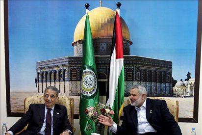 El secretario de la Liga Árabe hace su primera visita a Gaza desde que gobierna Hamás