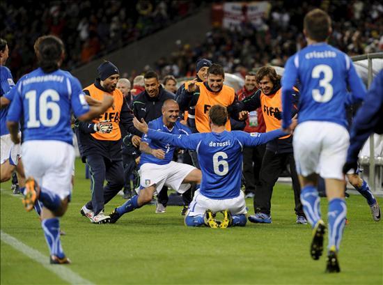 1-1. La vigente campeona Italia solo puede empatar con una seria Paraguay