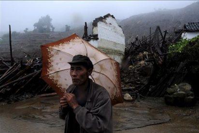 Mueren 23 personas y 7 resultan heridas por desprendimientos en el sur de China
