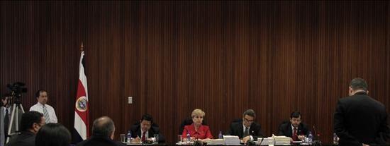 El Supremo costarricense comienza la vista para decidir la apelación de Calderón
