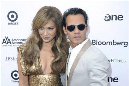 Jennifer López y Marc Anthony son la atracción en una gala benéfica