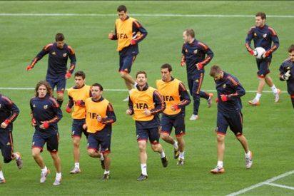 El sueño de España alza el telón en Durban ante la 'tropa' de Hitzfeld