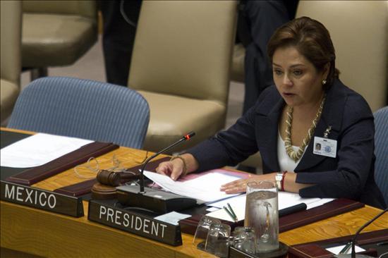 México impulsa en la ONU mayor protección para los menores en los conflictos