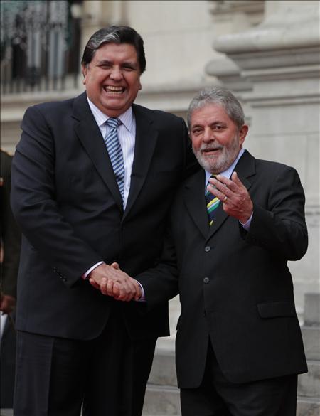 Lula y García abogan por dar forma a la integración latinoamericana