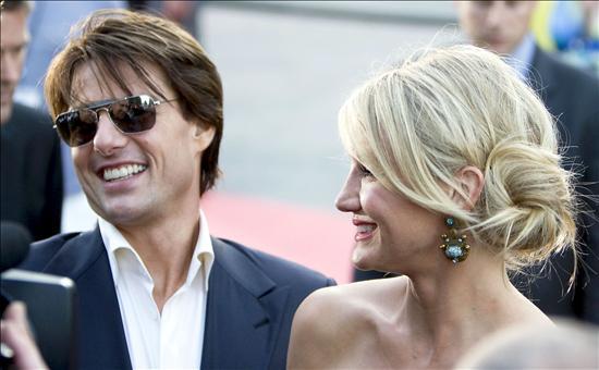 """Cruise y Díaz trasladan Hollywood a Sevilla por el estreno mundial de """"Knigth and day"""""""