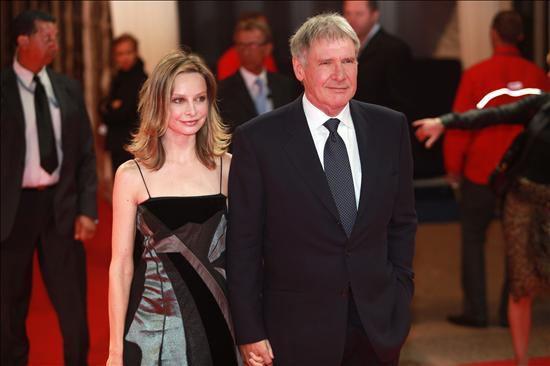 """Harrison Ford y Calista Flockhart se dieron el """"sí quiero"""""""