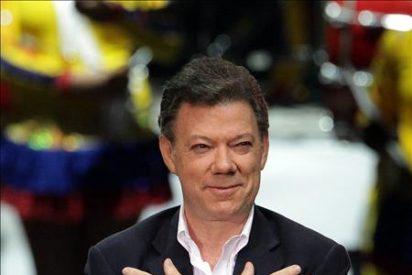 Juan Manuel Santos dice que su triunfo también es del presidente Uribe