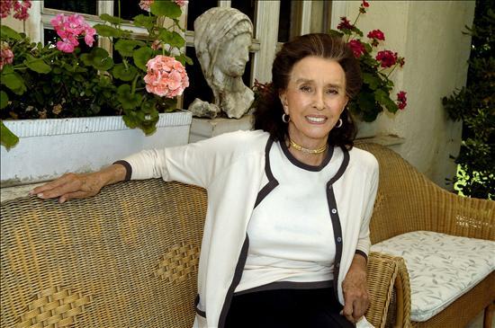Aline Griffith, condesa de Romanones, sentía celos de su amiga Audrey Hepburn