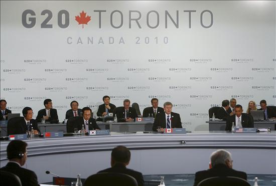 """El G20 acuerda una consolidación fiscal """"ajustada"""" a las circunstancias nacionales"""