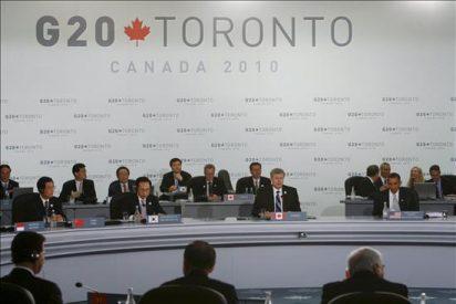 Concluye la cumbre del G2O con un compromiso para reducir el déficit público