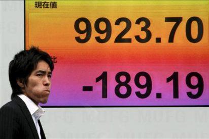El índice Nikkei baja 206,08 puntos, 2,15 por ciento, hasta 9.364,59 puntos