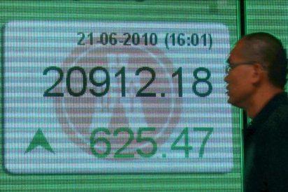 El índice Hang Seng baja 263,18 puntos 1,30% en la apertura, hasta 19.985,72