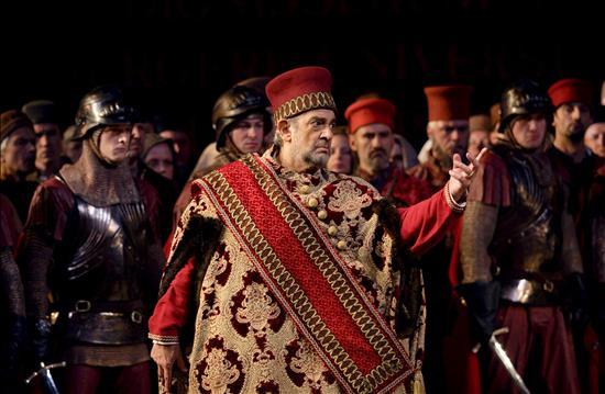La Royal Opera House se rinde a Plácido Domingo en su primer rol de barítono