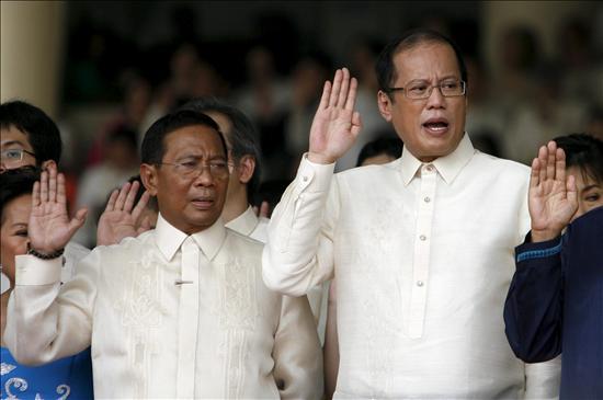 Aquino jura combatir la pobreza y la corrupción en su discurso de investidura