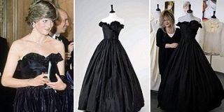Pagan 230.000 euros por el vestido que llevó Diana en su primer acto oficial