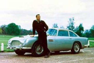 A subasta un Aston Martin de James Bond
