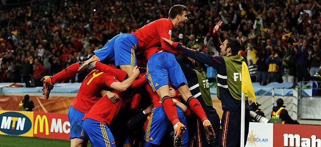 El triunfo de España congrega a poco menos de 13 millones de espectadores