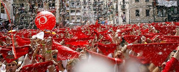 TVE emite los encierros de San Fermín en exclusiva