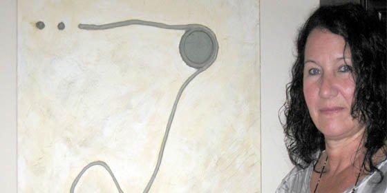 Artista argentina expone en muestra colectiva en Barcelona