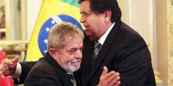 Alan García y Lula da Silva se reúnen hoy en Brasil
